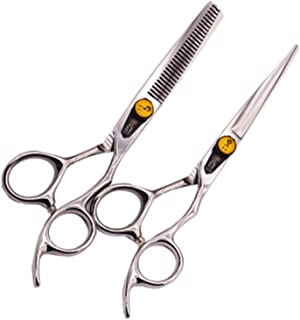 Hair Scissor,Professional Hairdressing Hair Cutting Scissors/Shears is Made of 4CR Stainless Steel Scissors for Salon Barb...