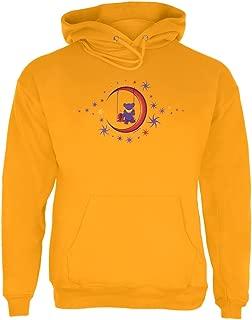 Grateful Dead - Moon Swing Pullover Hoodie Yellow