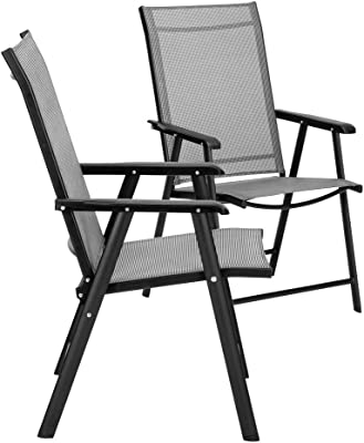 Adirondack Chair Sedie Da Giardino.Amazon Com Chicreat C248 3 Folding Chair Charcoal Sports Outdoors