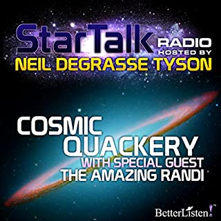 Star Talk Radio: Cosmic Quackery audiobook cover art
