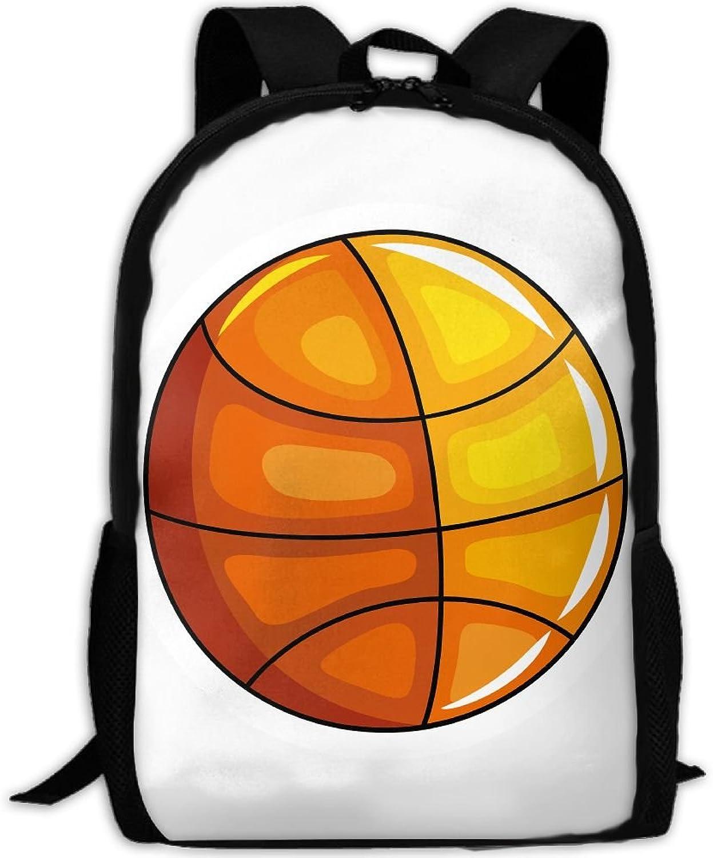Backpack Laptop Travel Hiking School Bags Basketball Daypack Shoulder Bag