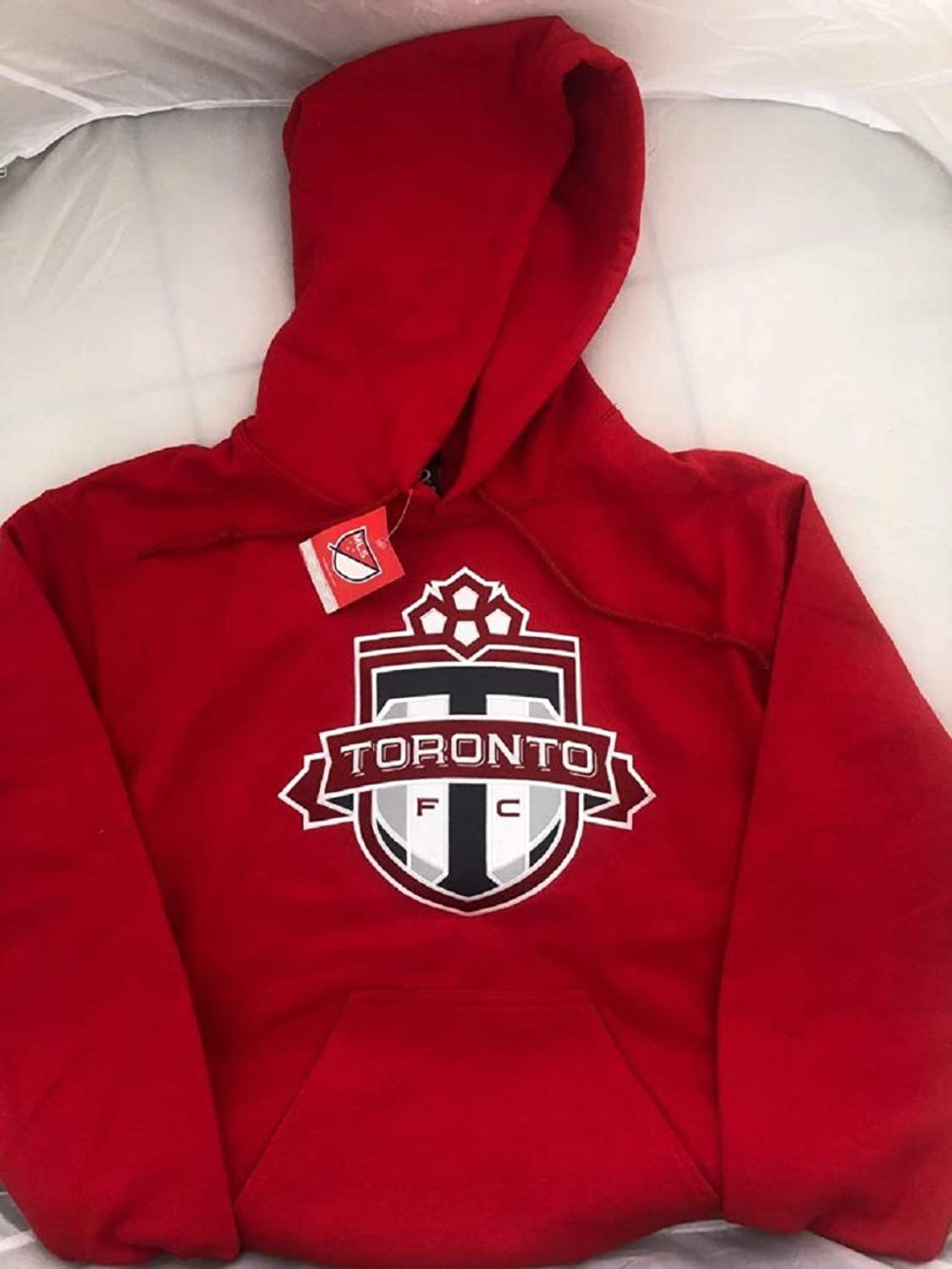 Tgoldnto Fc Red Hoodie Bulletin Unisex TFC Hoody Twill Applique