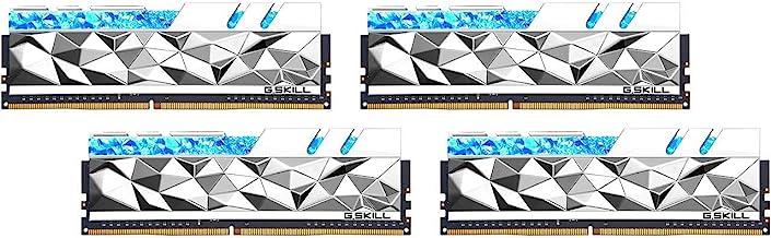 G.Skill Trident Z Royal Elite Series [Silver] 64GB (4 x 16GB) 288-Pin SDRAM DDR4 3600 (PC4-28800)...