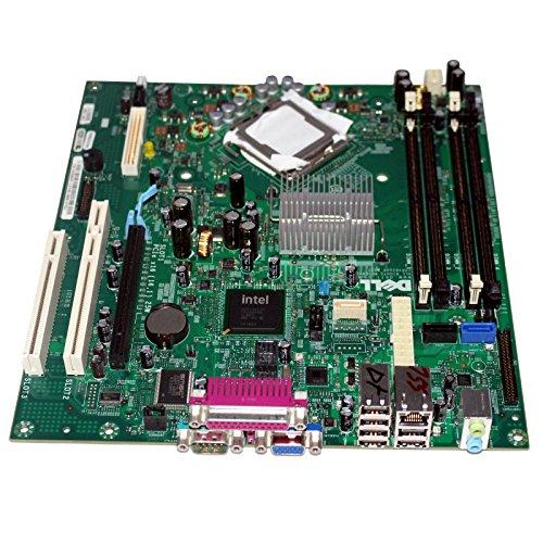 Placa de sistema Dell Optiplex 755 SDT Core 2 Duo sin CPU