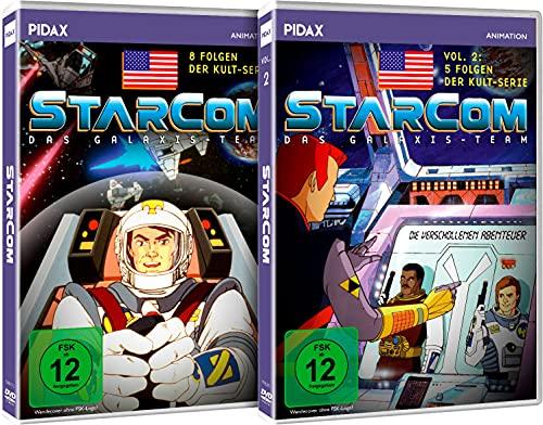 Starcom - Das Galaxis-Team - Gesamtedition / Die komplette 13-teilige Serie auf 2 DVDs (Pidax Animation)