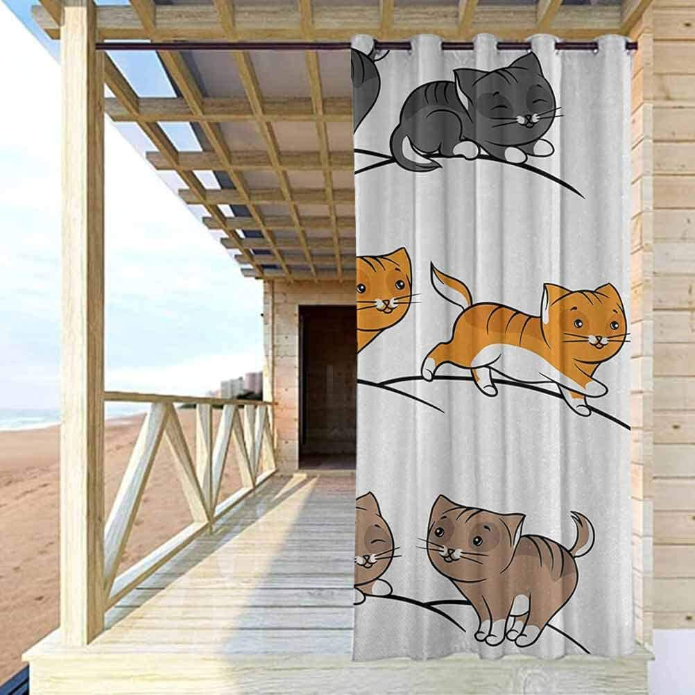 crabee Animal Patio Curtain Panel safety Selling rankings Panels for Curtains PatioGard