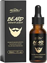 Beard Growth Oil With Biotin Caffeine For Men Beard Growth Serum Stimulate Beard Growth Promote Hair Regrowth Facial Hair ...