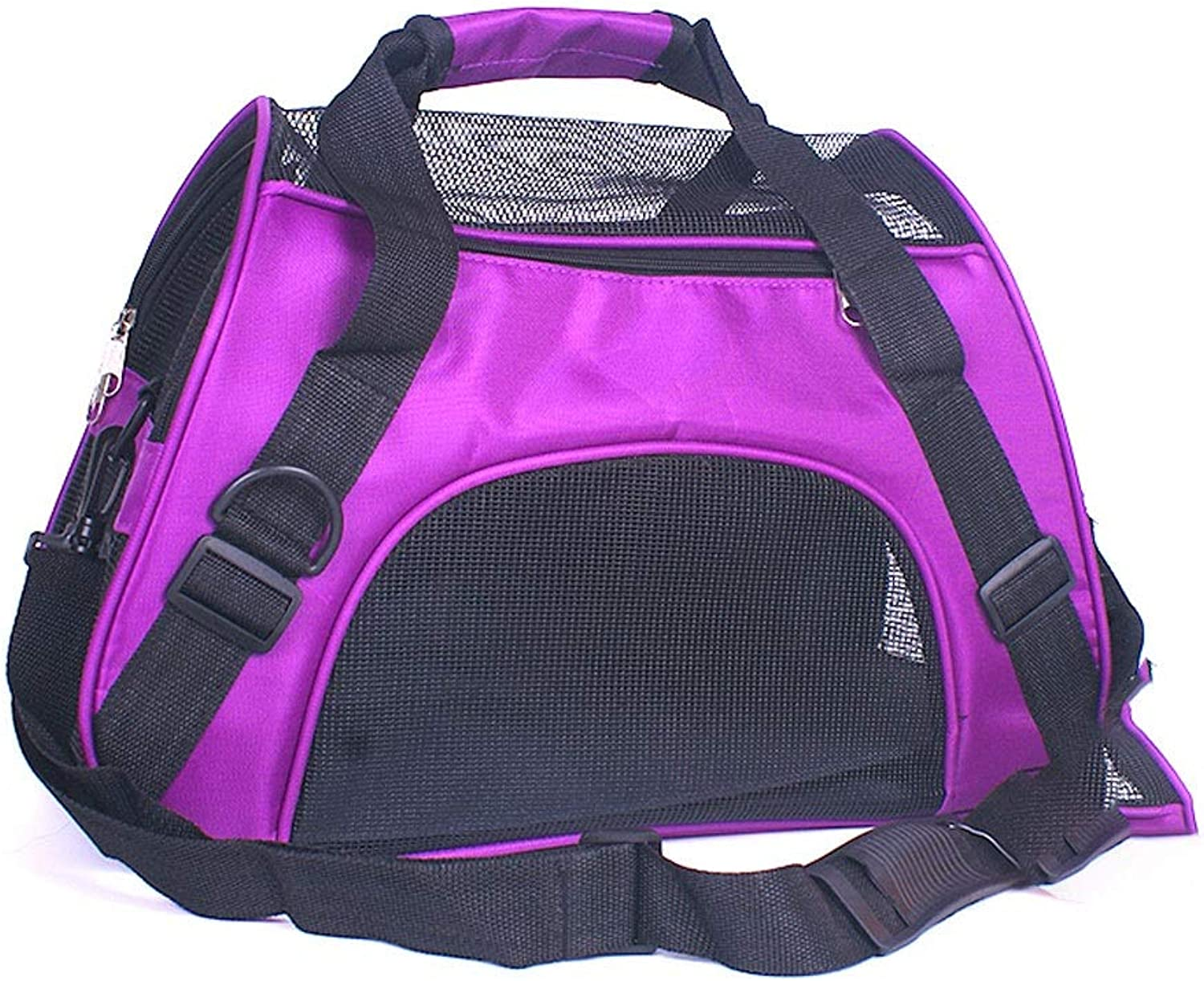 Pet Travel Carrier Pet Backpack Pet Outing Package Cat Bag Outgoing Portable Dog Bag Outdoor Travel Pet Supplies (color   Purple, Size   S)