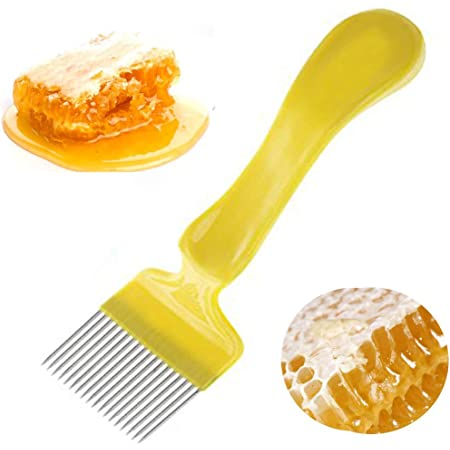 Fork cultivator PRO Stainless Steel Uncapping Honey Scraper Beekeeping Tool NEW