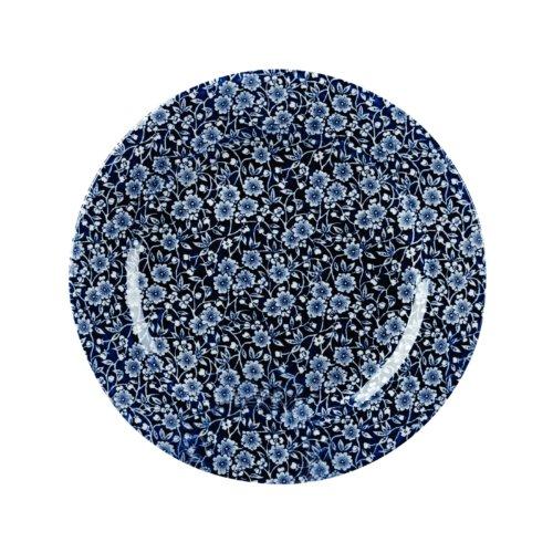 Churchill Calico Keramik-Teller, Vintage-Druck, Weide, viktorianischer Stil, 276 mm, Stück: 6