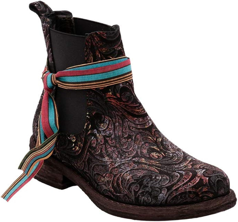 Felmini - Damen Schuhe - Verlieben Hardy B127 - Lssige Stiefeletten - Echtes Leder - Mehrfarbig