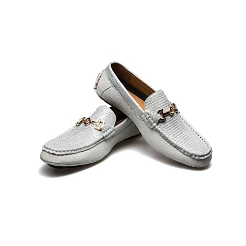 c1b20b6cc60 JITAI Men s Driving Penny Loafers Suede Driver Moccasins Slip On Flats  Casual Dress Boat Shoes