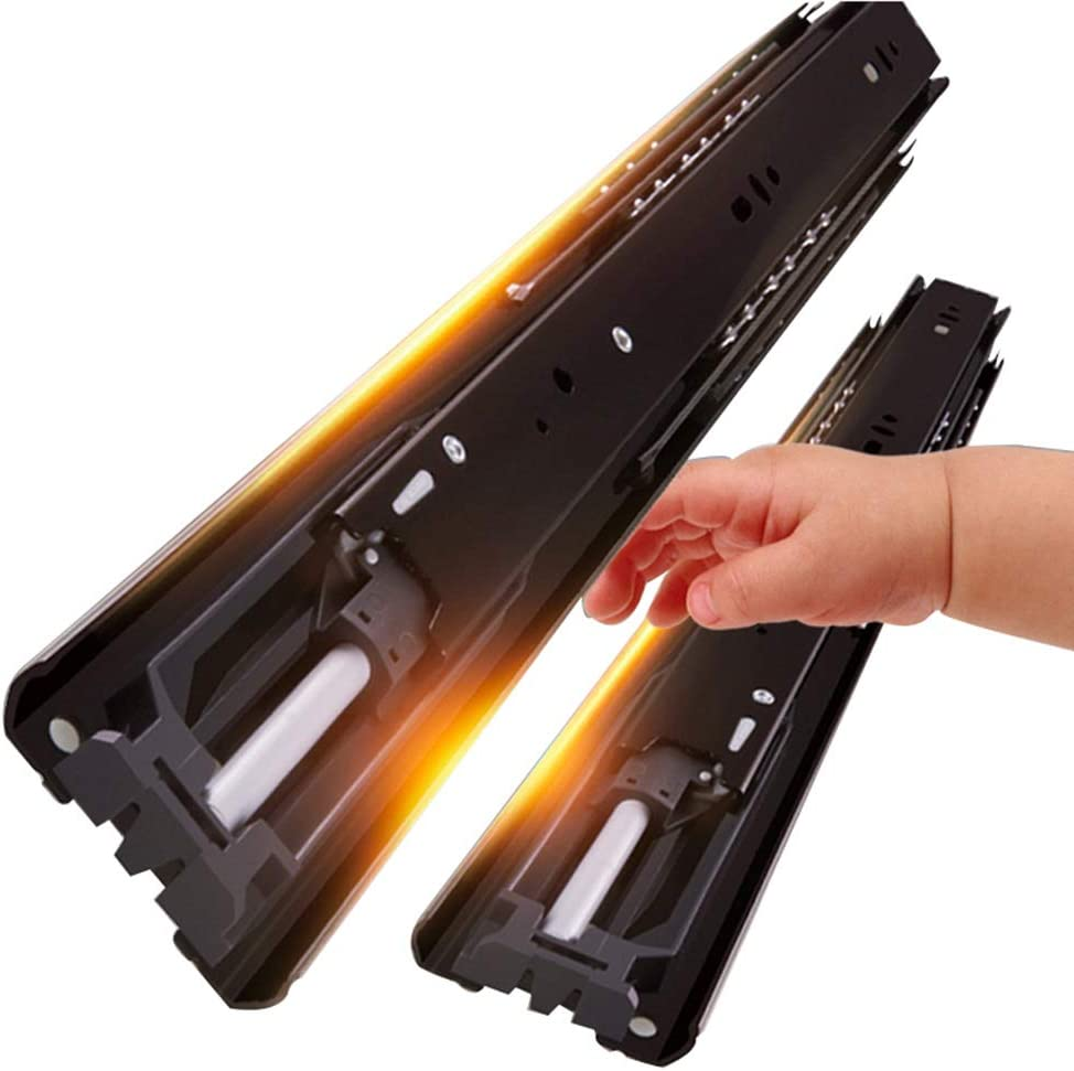 YHAMT Metal Drawer Slide with Closed Cheap SALE Start Damp Automatic Regular dealer Soft-Closing