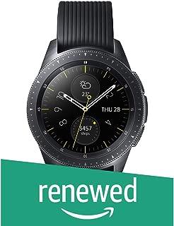 (Renewed) Samsung Galaxy SM-R810NZKAINU Smartwatch Smartwatch (Midnight Black)