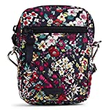 Vera Bradley Signature Cotton Small Convertible Crossbody Purse with RFID Protection, Itsy Ditsy