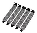 PCIスロットカバー メッシュタイプ 5個パック ネジ無し KM-SC345