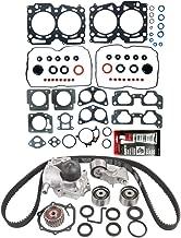Head Gasket Set & Timing Belt Kit Compatible for 1999-2003 Subaru Legacy Impreza Forester Outback 2.5L H4 EJ25 SOHC