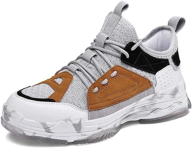 FGFKIJ Chaussures de Basket-Ball Hommes Baskets High Baskets BreathActive Formation Loisirs Outdoor Chaussures de randonnée