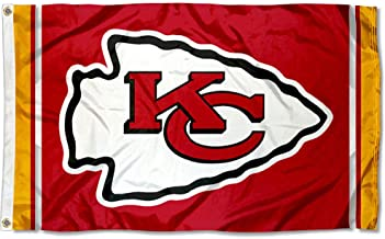 WinCraft Kansas City Chiefs KC Large NFL 3x5 Flag