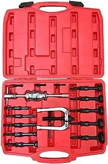 Goplus Blind Inner Bearing Puller Hole Remover Extractor Set Slide Hammer Tool Kit (16 PCS)