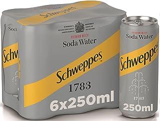 Schweppes Soda Water, 6 x 250 ml