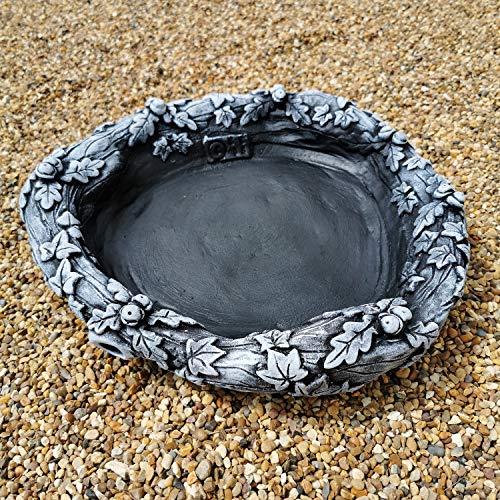 Garden Ornaments & Accessories Round Acorn Ground Bird Bath or Replacement...