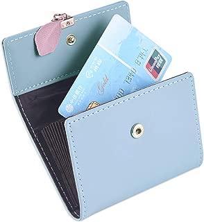 Leather Credit Card Holder for Women, RFID Blockinig Credit Card Wallets
