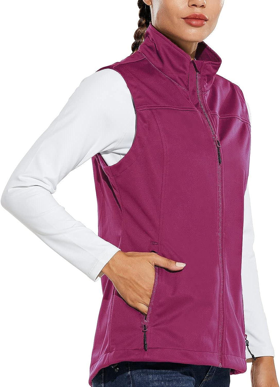 BALEAF Women's Las Vegas Mall Lightweight Vest Finally resale start Wind Jacket Softshell Sleeveless