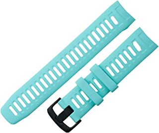 KHZBS Compatible Instinct Bands Soft Silicone Sport Strap Replacement for Garmin Instinct Smart Wristband Belt Tools