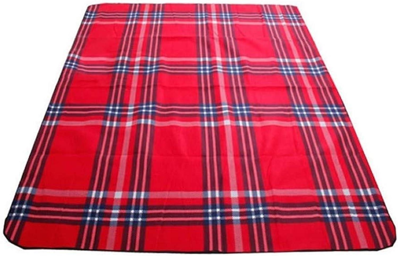Outdoor Picnic Mat, Picnic Blanket Waterproof Camping Blanket Sandproof Outdoor Beach Blanket with Handle