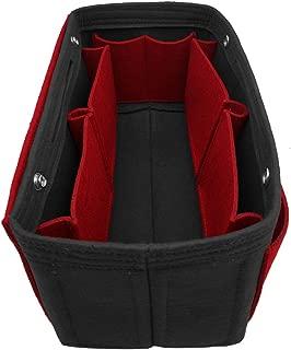 LEXSION Felt Purse Organizer, Multi Pocket Bag in Bag Organizer For Tote & Handbag Shaper