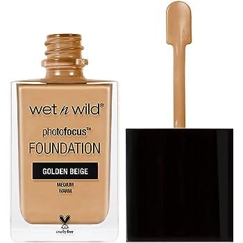 wet n wild Photo Focus Foundation, Golden Beige, 1 Ounce