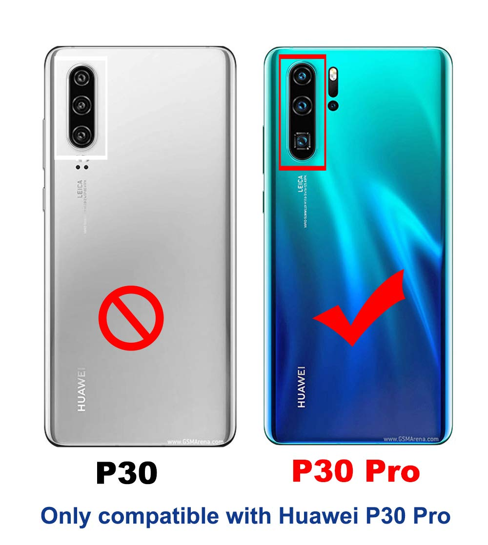 NOKOER Protector de Lente de Cámara para Huawei P30 Pro, [2 Pack ...