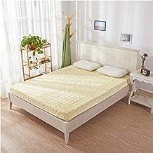 Memory Foam Mattress Topper Queen,Tatami Mattress Full Size Student Dormitory Slow Rebound Mattress Sponge Warm Mattress,S...