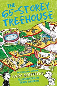 The 65-Storey Treehouse: The Treehouse Books 05 (The Treehouse Series Book 5) by [Andy Griffiths, Terry Denton]
