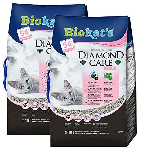 Biokat\'s 613079 Diamond Care Fresh, 10 L 2er Pack