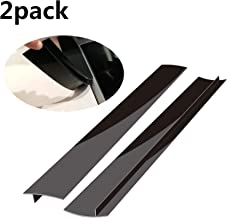Stove Counter Gap Cover, Long Silicone Gap Cover, Gap Filler for Oven Protector,Countertop, Kitchen Appliances, Set of 2 Black by Mofason … (21 inch)