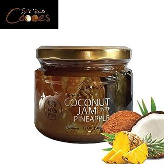 Organic Coconut Jam with Pineapple | Toast Spread | Vegan| Non-GMO | Gluten-Free | Keto Friendly | Dairy Free | Peanut Fre...