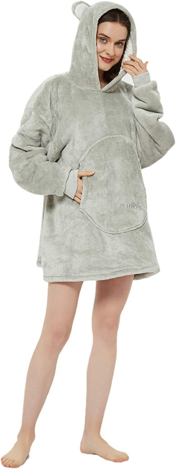 Torry Tucson Mall Soft Warm Challenge the lowest price Cozy Wearable Blanket Women Sherpa Me for Hoodie