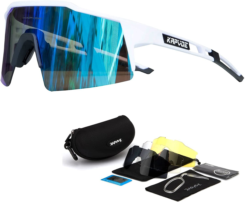 KAPVOE Cycling Glasses Polarized Popular popular Sunglasses Mounta 35% OFF Men MTB Women