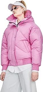Murfhee Women's Winter Fashion Hooded Short Duck Down Jacket Cute Warm Coat