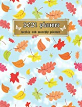 2021 Planner: Weekly & Monthly Planner for Women - Blue Sky Colorful Cover (2021 Weekly Planners)