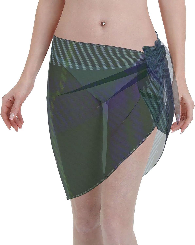 2053 pants Jones of Wales ClanFamily Tartan Women Chiffon Beach Cover ups Beach Swimsuit Wrap Skirt wrap Bathing Suits for Women
