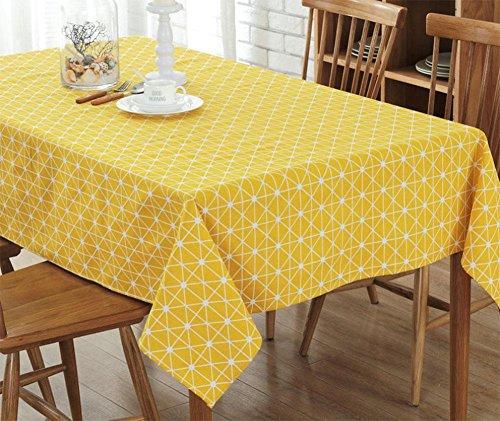 CHEN Moderne minimalistische Leinwand Tischdecken Tischdecken Restaurants Home Hotel Konferenz Tischdecken Abdeckung Handtuch, 4