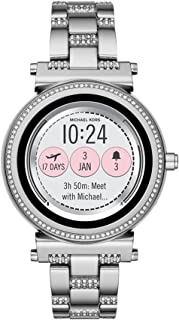 Michael Kors Access MKT5036 Smartwatch para Mujer, color Plata