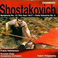 Symphony 12 Op 112 / Cello Concerto 2 Op 126 by Shostakovich