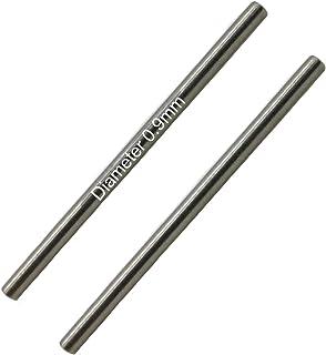 Masar 10mm à 24mm Ø 0.9mm 1.0mm 1.1mm 1.2mm Premium Pins Épingles de Bracelet de Montre Solides INOX Haut de Gamme 316L – ...