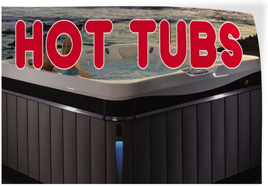 Deluxe Decal Stickers Multiple Ranking TOP5 Sizes Hot Outdoor Tubs B Advertising Pri