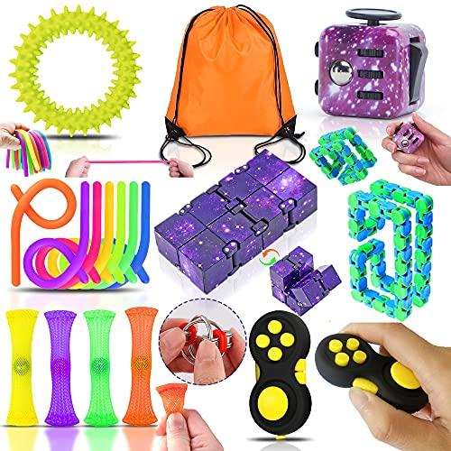 Yetech Anti Stress Spielzeug Set,Sensory Toy Set,Galaxy Anti-Stress Würfel Spielzeug,Verbesserung der Konzentration und zur Linderung der Unruhe bei Erwachsenen und Kindern