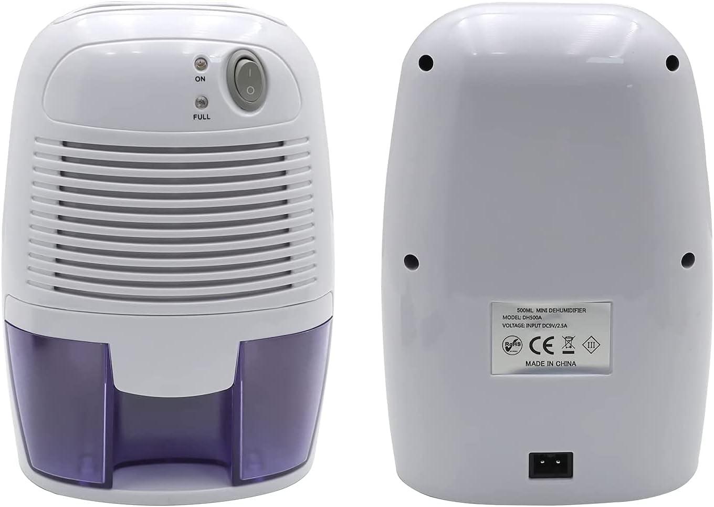 HTTMT- 500ml Long-awaited Electric Portable Dehumidifier Shut Off For Cheap w Auto